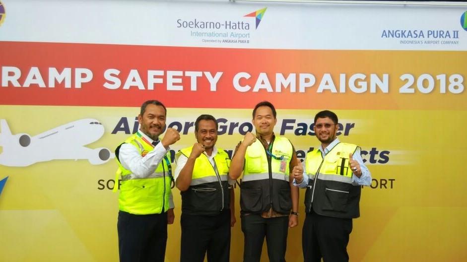 Ramp Safety Campaign by Angkasa Pura II