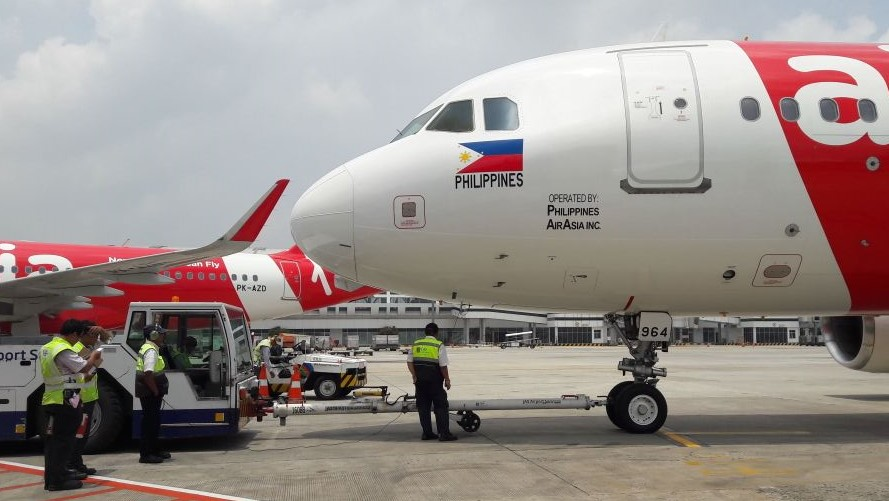 Philippines Air Asia Inaugural Flight in CGK